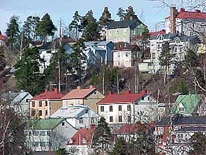 Kuva 3: Pispala (lähde: http://www.tampere.fi/ytoteto/yva/ymparistoverkko/bl_kt_arkkitehtuuri_pispala.html)